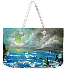 Sail At My Side Weekender Tote Bag