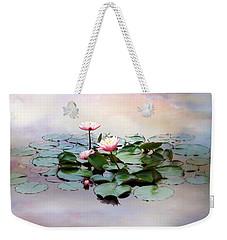 Monet Lilies  Weekender Tote Bag