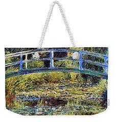 Monet's Bridge Weekender Tote Bag
