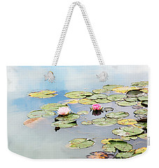 Weekender Tote Bag featuring the photograph Monet's Garden by Brooke T Ryan