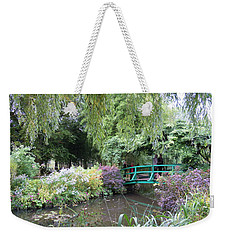 Monet's Japanese Bridge Weekender Tote Bag