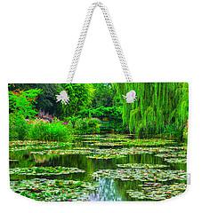 Monet's Lily Pond Weekender Tote Bag