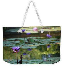 Monet's Waterlily Pond Number Two Weekender Tote Bag by Heather Kirk