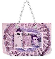 Money 2  Weekender Tote Bag