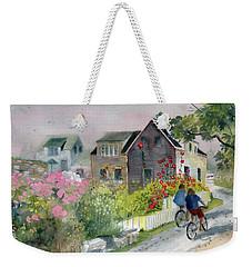 Monhegan In August Weekender Tote Bag by Melly Terpening