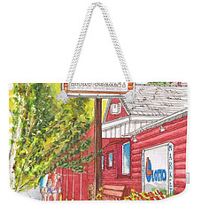 Mono Market Near Mono Lake In Lee Vining-california Weekender Tote Bag