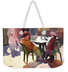 Monologue Weekender Tote Bag
