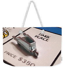Monopoly Board Custom Painting Park Place Weekender Tote Bag