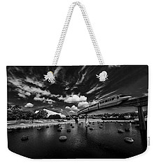 Monorail Weekender Tote Bag by Kevin Cable