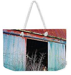 Monroe Co. Michigan Barn Weekender Tote Bag by Daniel Thompson