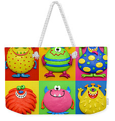 Monsters Weekender Tote Bag