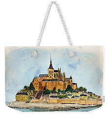 Mont Saint-michel Weekender Tote Bag
