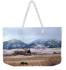 Montana Ranch - 1 Weekender Tote Bag