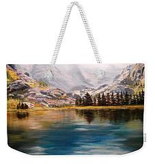 Montana Reflections Weekender Tote Bag by Patti Gordon