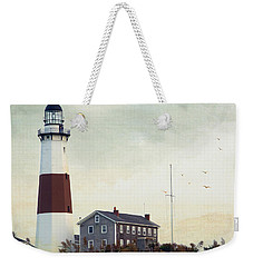 Montauk Dusk Weekender Tote Bag by Keith Armstrong