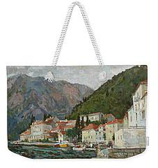 Montenegrin Venice Weekender Tote Bag