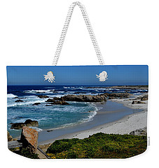 Weekender Tote Bag featuring the photograph Monterey-1 by Dean Ferreira