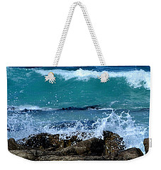 Weekender Tote Bag featuring the photograph Monterey-3 by Dean Ferreira