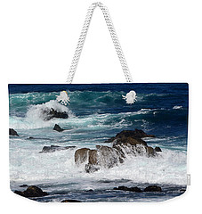 Weekender Tote Bag featuring the photograph Monterey-6 by Dean Ferreira