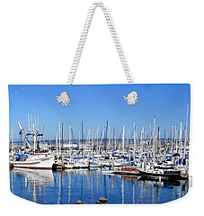 Weekender Tote Bag featuring the photograph Monterey-7 by Dean Ferreira
