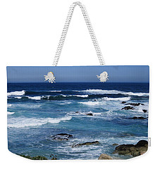 Weekender Tote Bag featuring the photograph Monterey-9 by Dean Ferreira