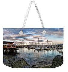 Monterey Marina California Weekender Tote Bag