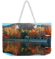 Montreat Autumn Weekender Tote Bag by Lydia Holly