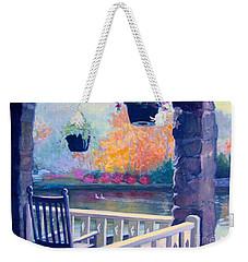 Montreat Porch Weekender Tote Bag