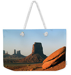 Monument Valley Afternoon Weekender Tote Bag