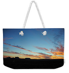 Monument Valley Sunset 2 Weekender Tote Bag