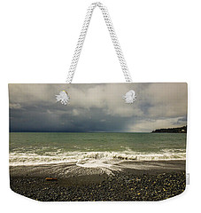 Moody Swirl French Beach Weekender Tote Bag by Roxy Hurtubise