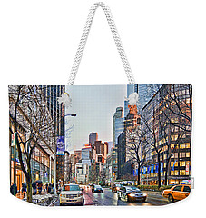 Moody Afternoon In New York City Weekender Tote Bag