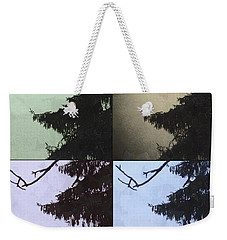 Moon And Tree Weekender Tote Bag by Photographic Arts And Design Studio