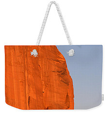 Moon At Monument Valley Weekender Tote Bag