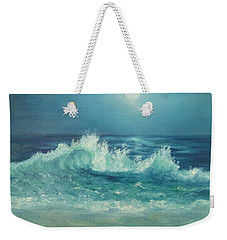 Moon Beach Painting Weekender Tote Bag