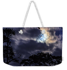 Moon Break Weekender Tote Bag
