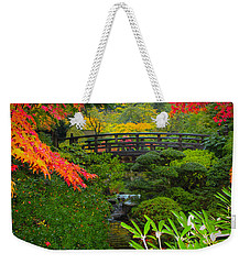 Moon Bridge To Enchantment Weekender Tote Bag
