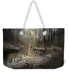 Moon Camp Weekender Tote Bag