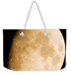 Moon Craters Galore Weekender Tote Bag