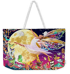 Moon Fairy Variant 1 Weekender Tote Bag by Garry Walton