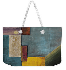 Weekender Tote Bag featuring the painting Moon Goddess by Darice Machel McGuire
