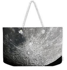 Moon Hi Contrast Weekender Tote Bag