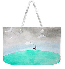 Moon Is My Kite Weekender Tote Bag