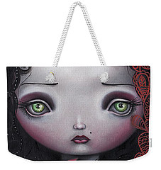 Moon Keeper Weekender Tote Bag by Abril Andrade Griffith