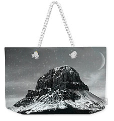 Moon Over Crowsnest Weekender Tote Bag