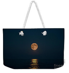 Moon Over Lake Of Shining Waters Weekender Tote Bag