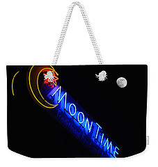 Moon Over Moon Time Weekender Tote Bag