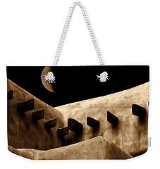 Moon Over Santa Fe Weekender Tote Bag