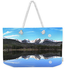 Moon Over Sprague Lake Weekender Tote Bag