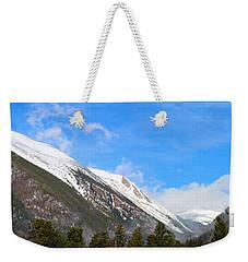 Moon Over The Rockies Weekender Tote Bag